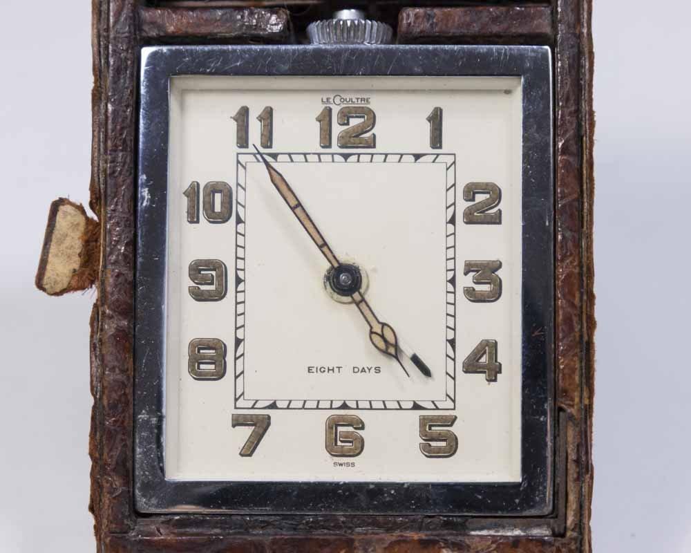 2 Travel Clocks, Tiffany & Co. & LeCoultre - 3