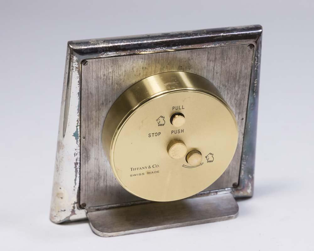 2 Travel Clocks, Tiffany & Co. & LeCoultre - 6