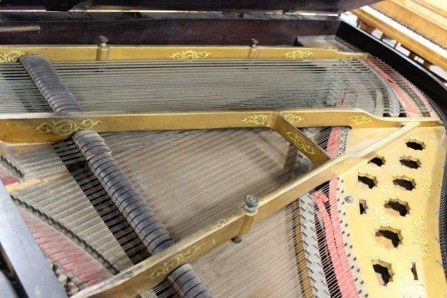 Scroll Leg Rosewood William Knabe Grand Piano - 3