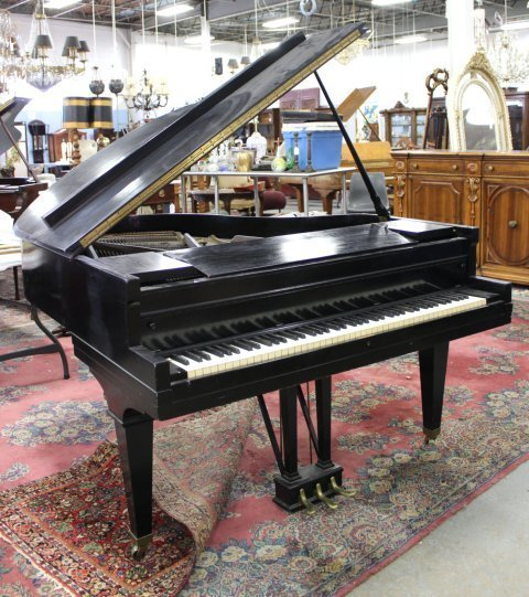 F.G. Smith NY Bradbury Ideal Grand Piano