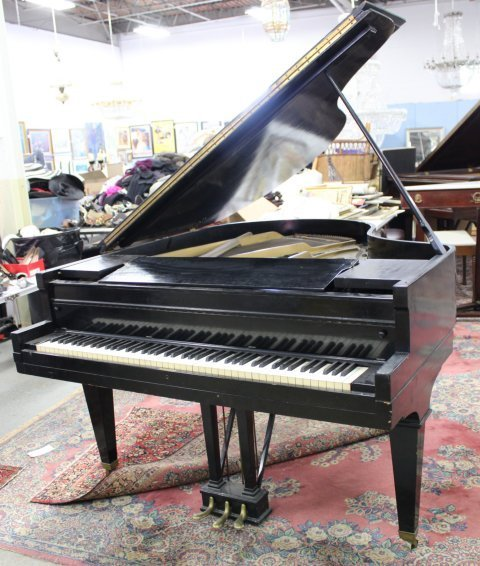 F.G. Smith NY Bradbury Ideal Grand Piano - 2