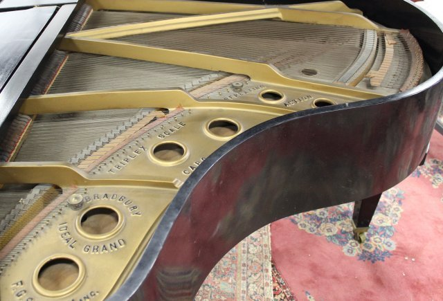 F.G. Smith NY Bradbury Ideal Grand Piano - 4