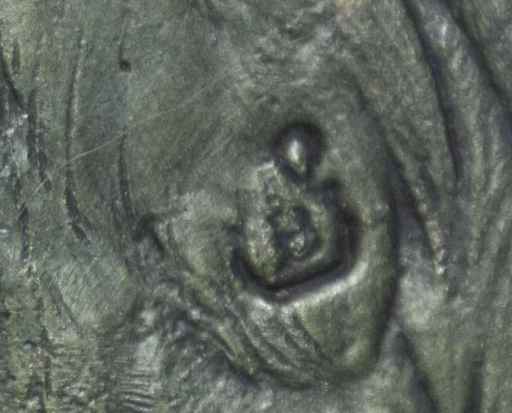 Large Hallmarked Polychromed Vienna Bronze Peacock - 5