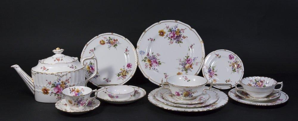 2 Royal Crown Derby Porcelain Part Dinner Services