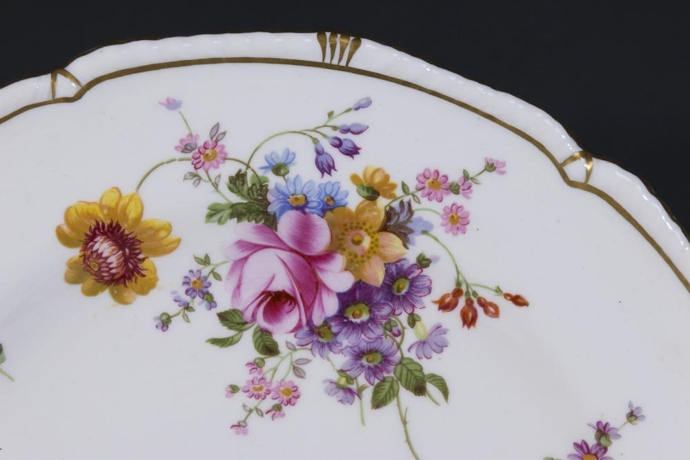 2 Royal Crown Derby Porcelain Part Dinner Services - 2