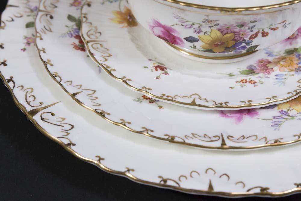 2 Royal Crown Derby Porcelain Part Dinner Services - 3