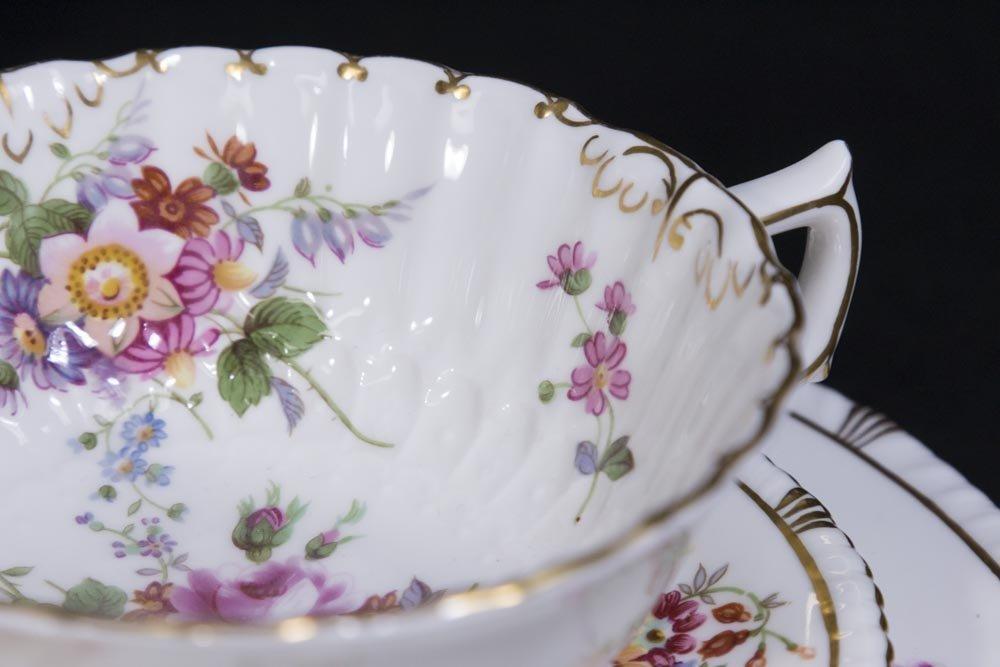 2 Royal Crown Derby Porcelain Part Dinner Services - 4