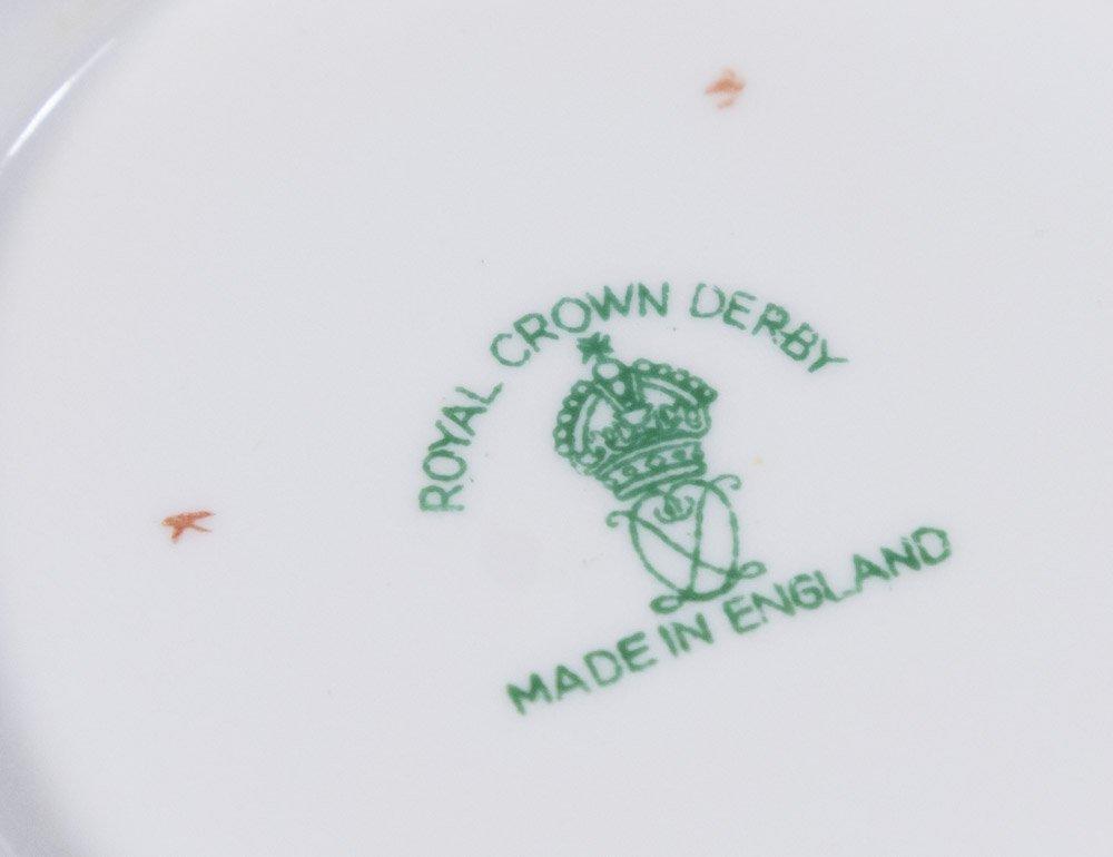 2 Royal Crown Derby Porcelain Part Dinner Services - 5