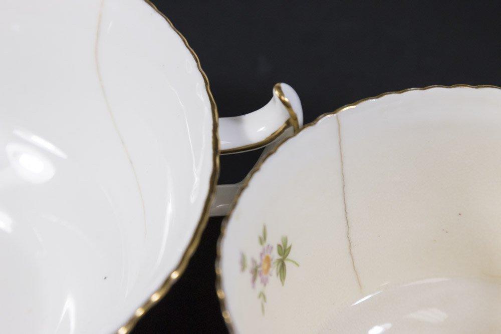 2 Royal Crown Derby Porcelain Part Dinner Services - 6