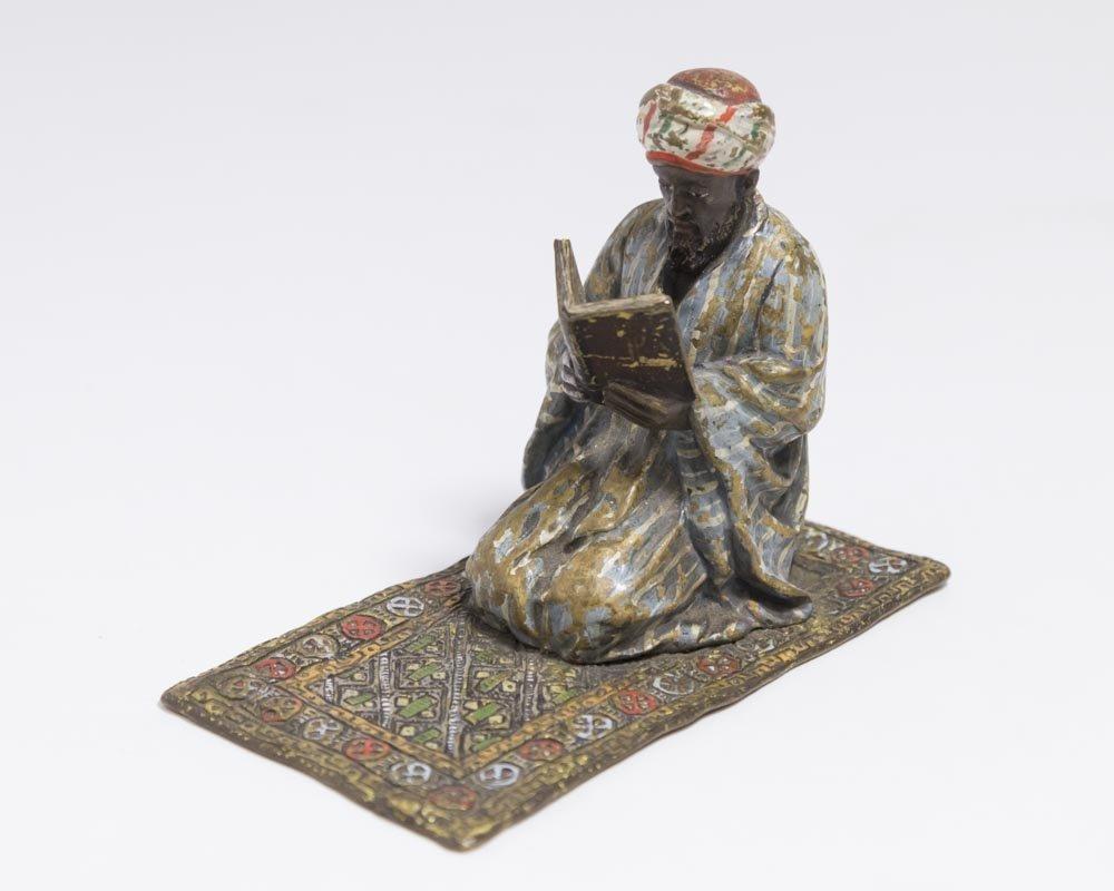 Vienna Bronze of an Arab
