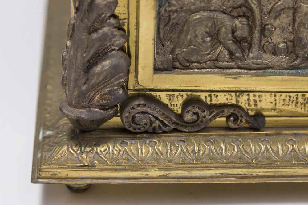 Bronze Figural Jewelry Box - 3