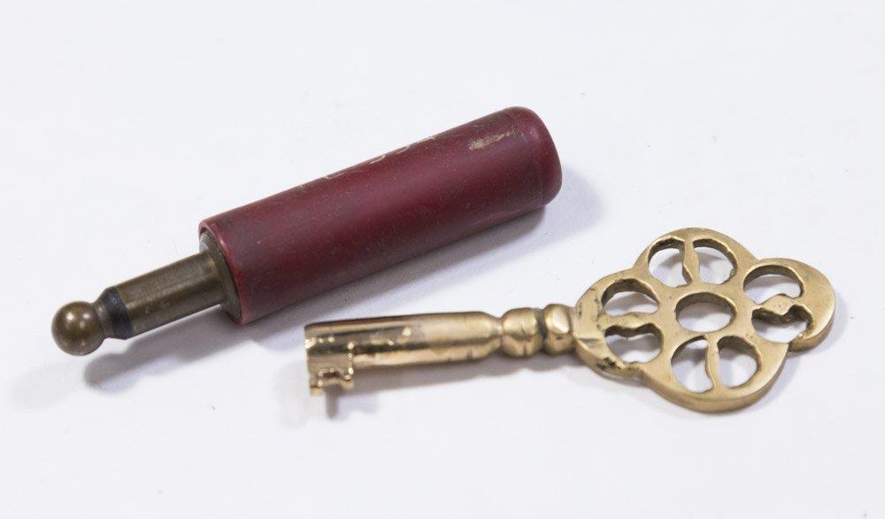 Bronze Figural Jewelry Box - 7