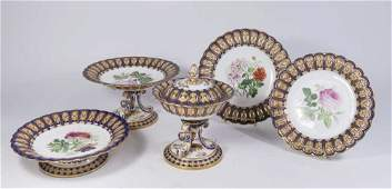 19th Century Continental Porcelain Luncheon Set