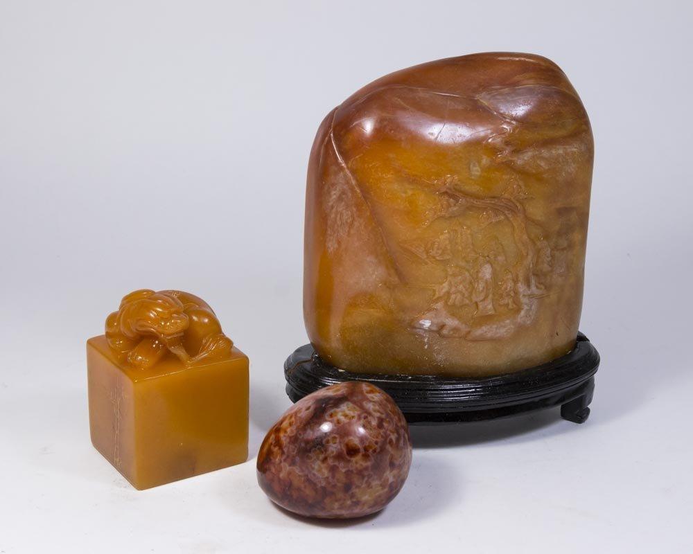 3 Chinese Stones