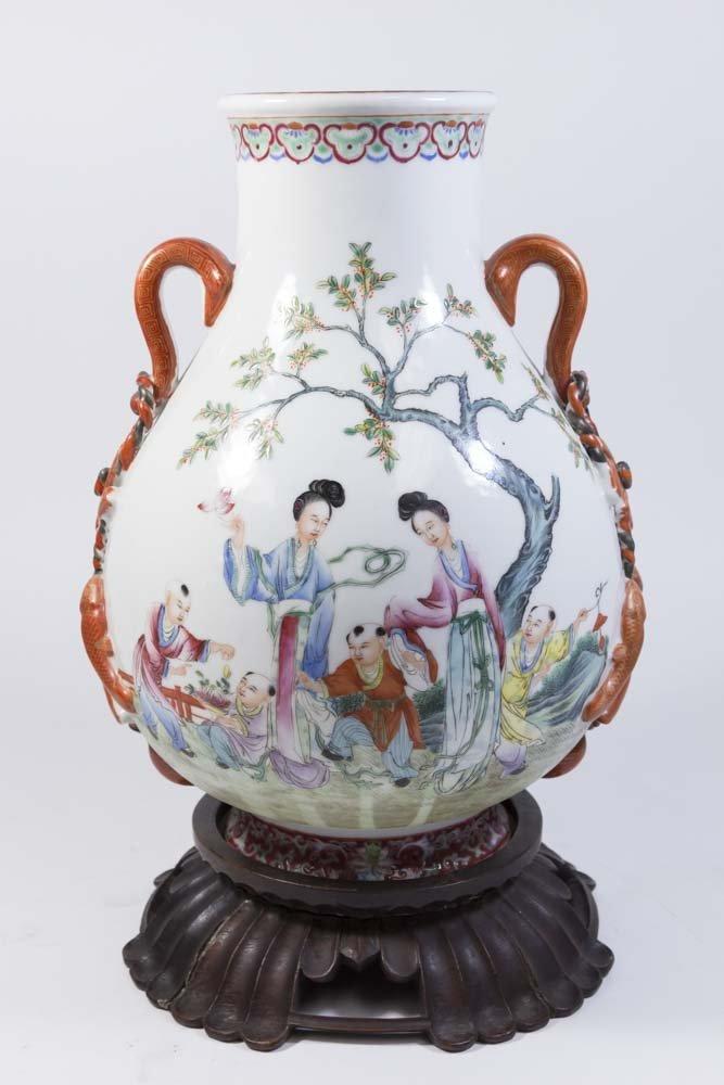 Chinese Republic Porcelain Vase