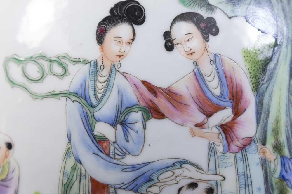 Chinese Republic Porcelain Vase - 3