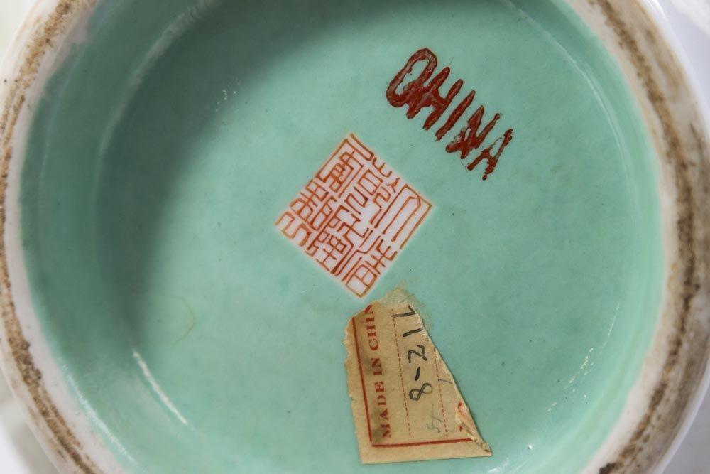 Chinese Republic Porcelain Vase - 5