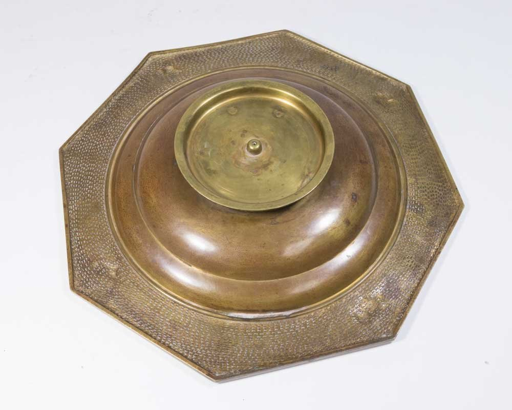 Bronze Tray Depicting Dogs - 4