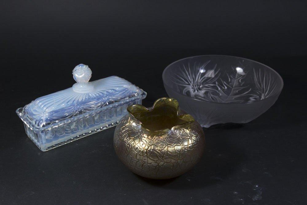 3 Glass Pieces
