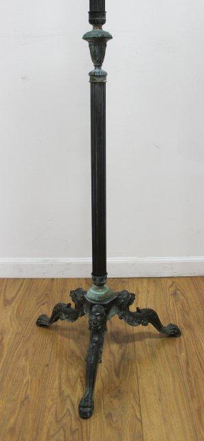 Neoclassic Style Metal Coat Rack - 3