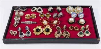 Costume Jewelry Group Lot