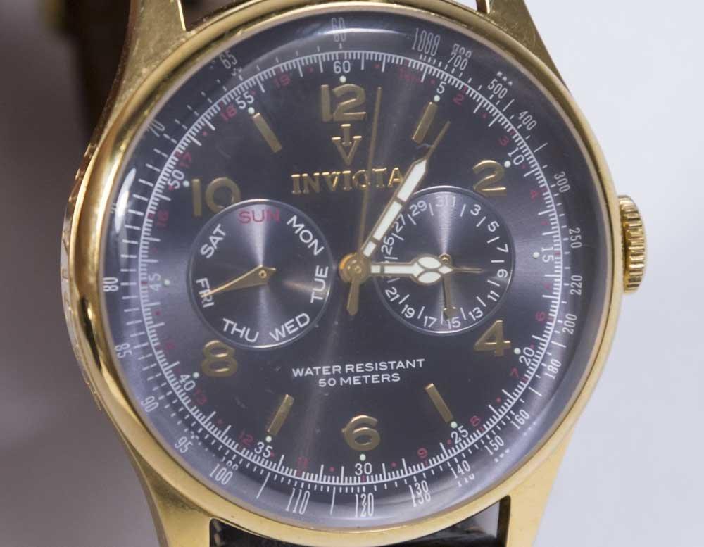 2 Invicta Men's Wrist Watches - 3