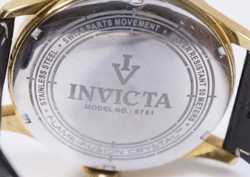 2 Invicta Men's Wrist Watches - 5