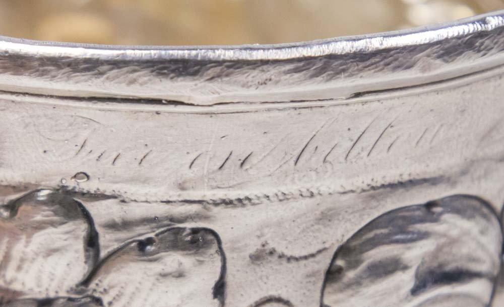 Continental Silver Beaker - 3