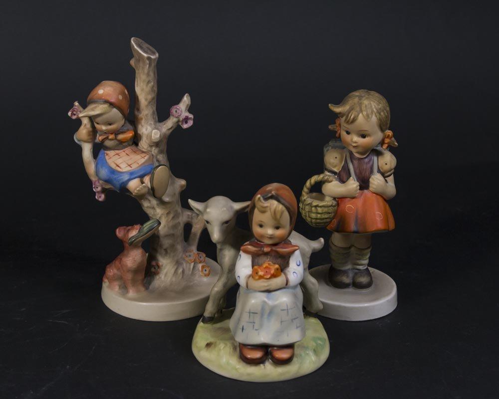 2 Lladro Figures & 3 Hummels - 4