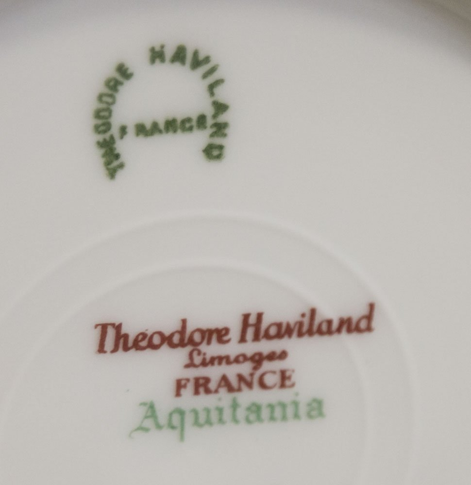 Haviland, Limoges France Dinnerware China - 6