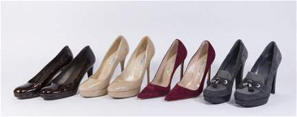 Group Lot of Women's Designer Shoes (4 Pairs)