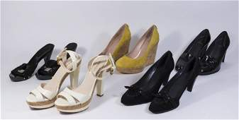 Group Lot of Womens Designer Shoes 5 Pairs
