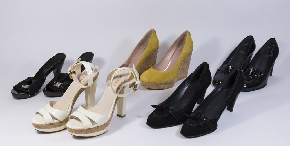 Group Lot of Women's Designer Shoes (5 Pairs)