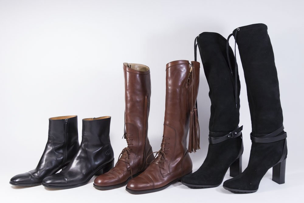Group Lot of Women's Designer Boots