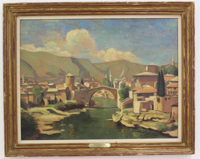 Roger Candes, Town of Mostar
