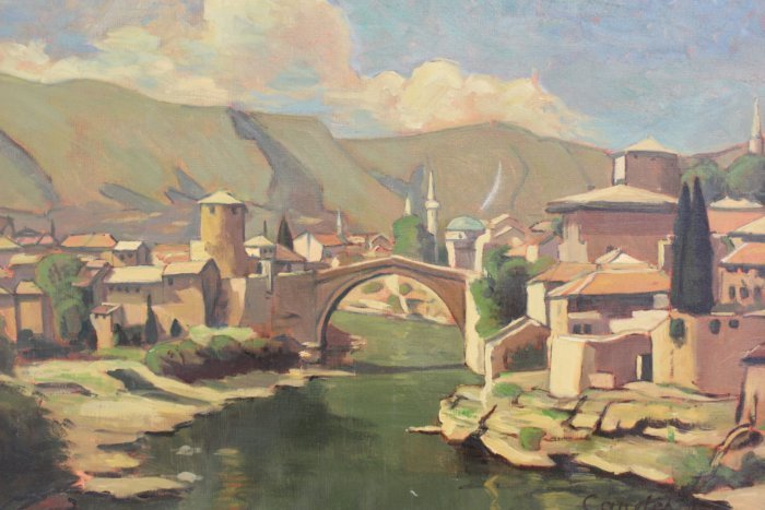Roger Candes, Town of Mostar - 2