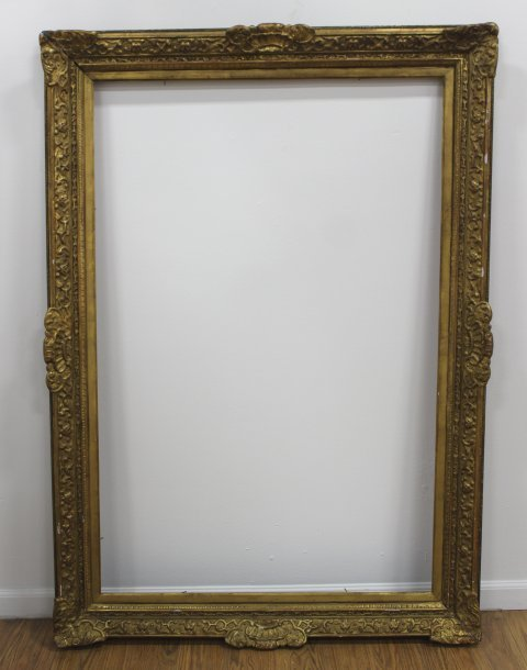 Lot of 2 Gilt Framed Large Frames - 2