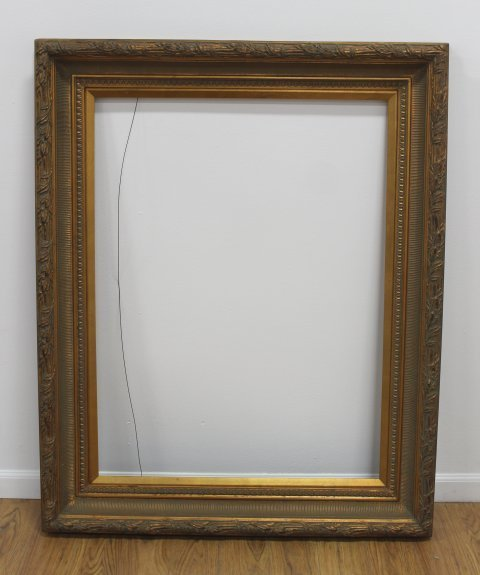 Lot of 2 Gilt Framed Large Frames - 3