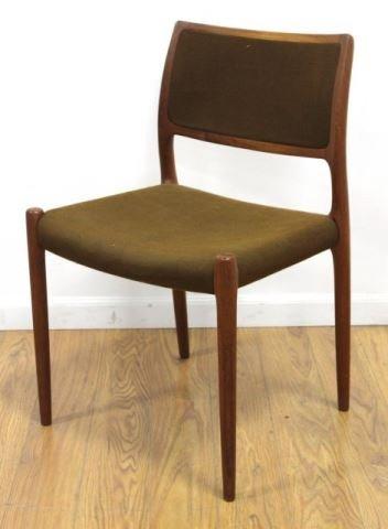 :J.L. Moller Teak Side Chair