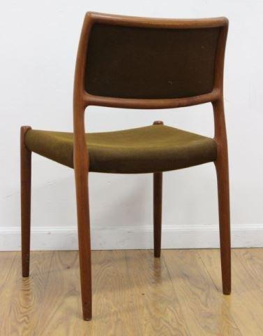 :J.L. Moller Teak Side Chair - 2