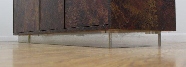 :Thayer Coggin Textured Veneered Side Cabinet - 3