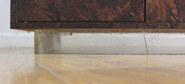 :Thayer Coggin Textured Veneered Side Cabinet - 4