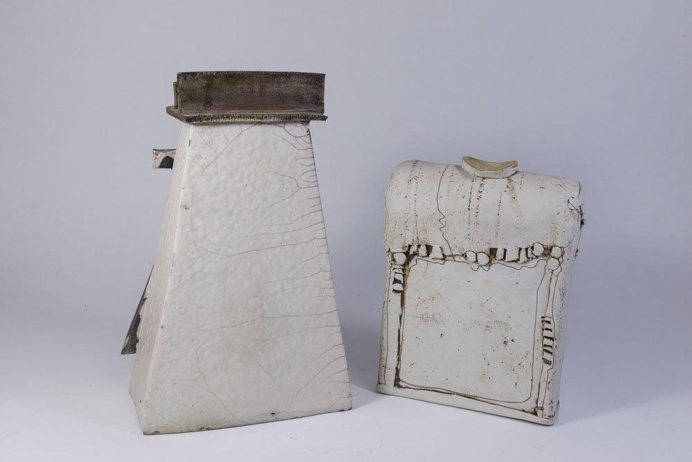 2 Ceramic Vases - 6