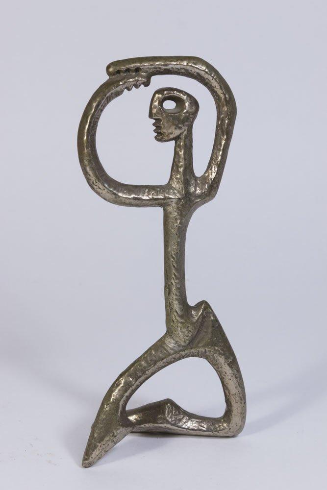 Lot of 5 Marino Marini Style Bronze Figures - 3