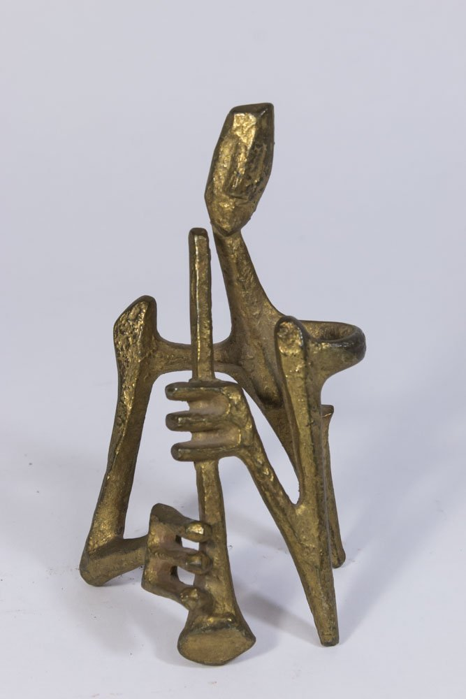 Lot of 5 Marino Marini Style Bronze Figures - 7
