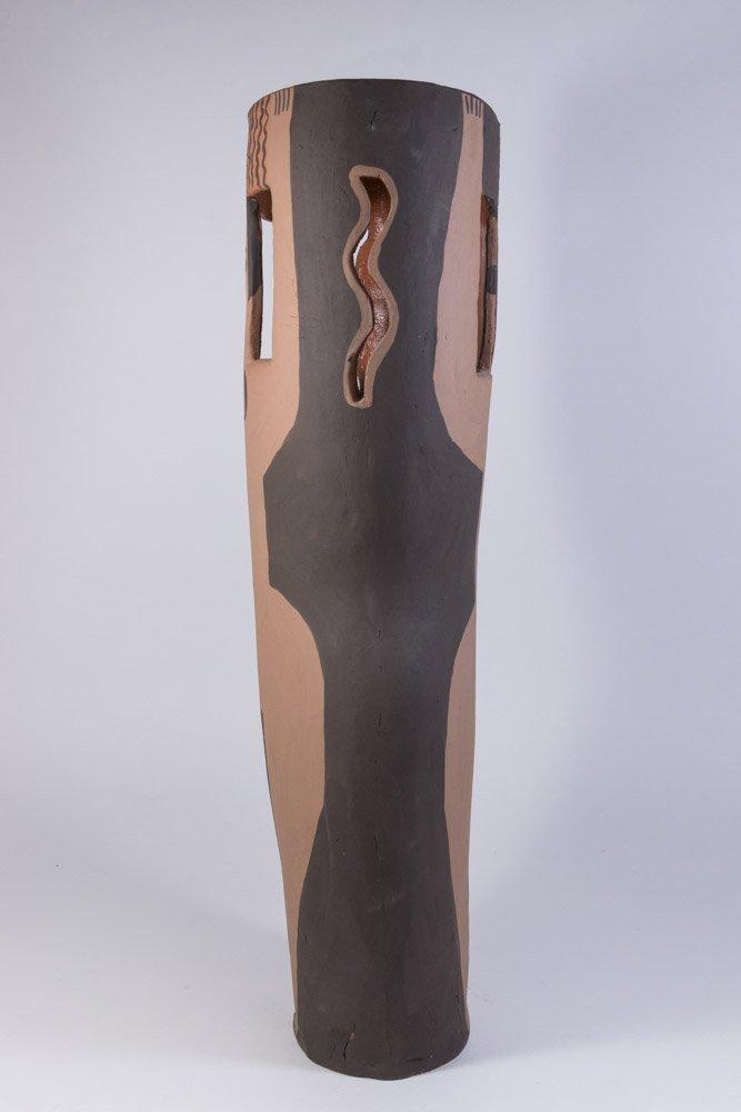 Picasso Style Ceramic Vase - 3