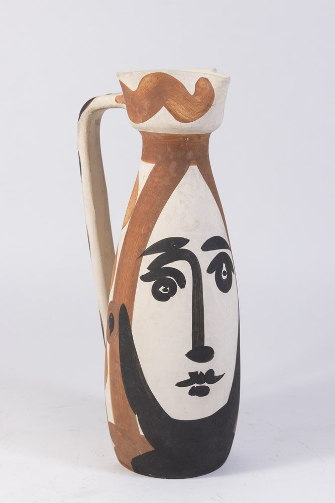 "Picasso ""Face"" Ewer"