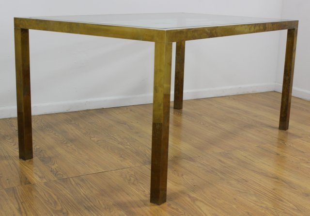 70s Brass Dining Table - 2