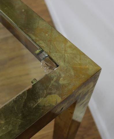 70s Brass Dining Table - 4