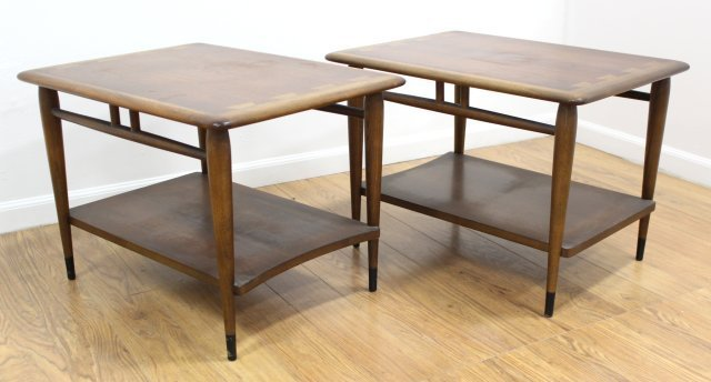 Pair Andre Bus for Lane Side Tables